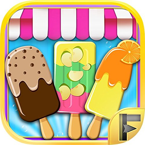 Ice Pop Maker Free - Make Juice Popsicle & Ice Lolly Poles for Ice Cream Fans (Ice Maker Popsicle Cream)