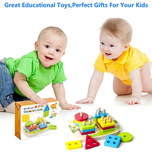 Bettroom Toddler toys for 1 2 3 4-5 year old boys girls ...