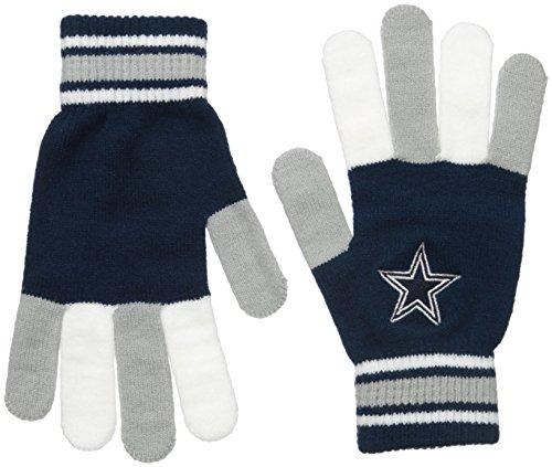 Dallas Cowboys Multi Color Team Knit Glove