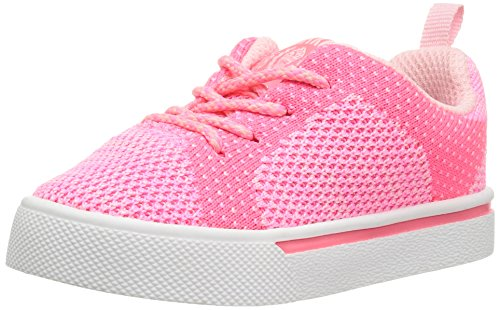 oshkosh-bgosh-riley-girls-and-boys-knitted-sneaker-pink-9-m-us-toddler