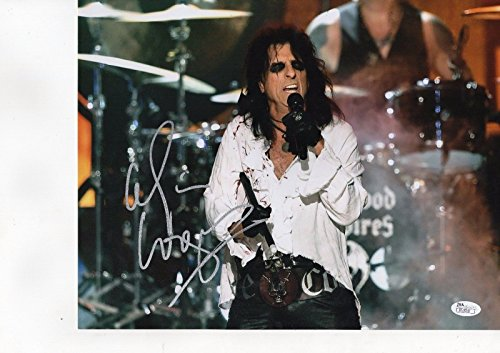 Cooper Signed Photo - Alice Cooper Autographed Signed 11x14 Photo Picture