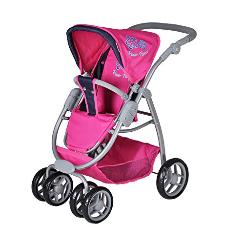 Amazon.com: knoortoys Doll Carriage Coco - Flower Power Pink: Toys ...