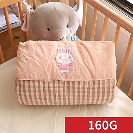 Courtepointe pour Enfants: 110 X 140 Cm Environ 1,5 Kg Linge De Bain Couette en Coton Japonais Lav/ée Au Printemps Et en Automne Bande Rouge