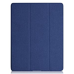 KHOMO ipad3-dual-twill-green Super Slim Cover with Rubberized back and Smart Auto Wake Sleep Feature Case for Apple iPad 2, 3 & 4, Twill Green from Onix Electronics LLC