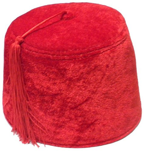 Jacobson Hat Company Red Fez Hat