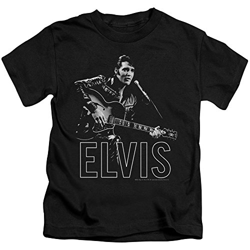 Juvenile: Elvis Presley - Guitar In Hand Kids T-Shirt Size -