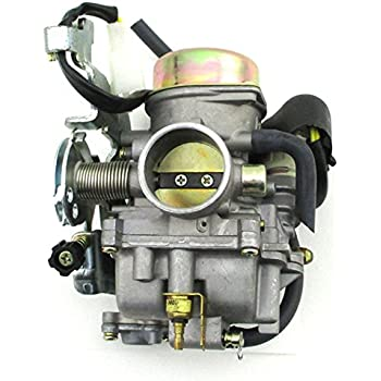 amazon com 260cc manco talon 260cc carburetor linhai 260cc four wheeler chinese 110cc atv wiring diagram carburetor assembly for manco talon