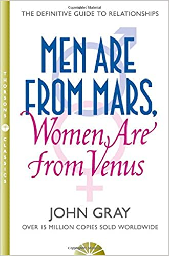 Men Are from Mars, Women Are from Venus. The Classic Guide to Understanding the Opposite Sex. Book Cover