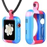 Greatfine Apple Watch Necklace Pendant Case for