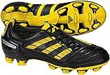 adidas Men's Predator_X Fg Soccer Shoe,Black/Sun/Metallic Silver (WC),8 D US