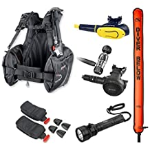 Mares Weight Integrated BCD Scuba Diving Equipment Regulator Package