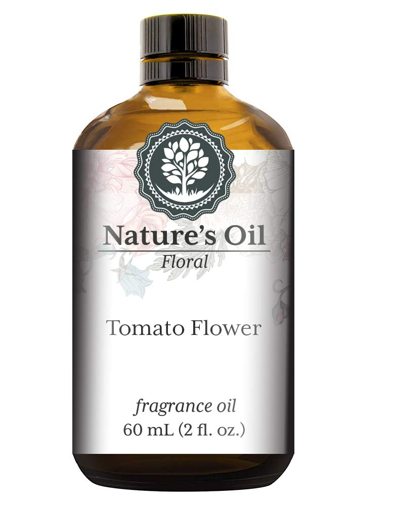 Tomato Flower Fragrance Oil (60ml) For Diffusers, Soap Making, Candles, Lotion, Home Scents, Linen Spray, Bath Bombs, Slime