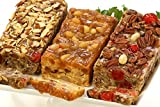 Heavenly Trio Fruit Cake Assortment, Gold Box, 3lbs
