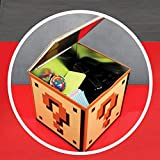 Large Official Super Mario Bros. Question Block Storage and Cookie Tin