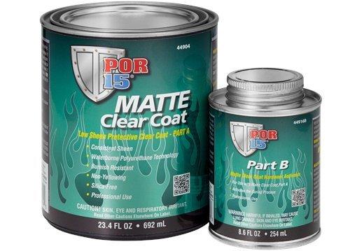 POR-15 44904 Matte Clear Coat Quart, 32. Fluid_Ounces