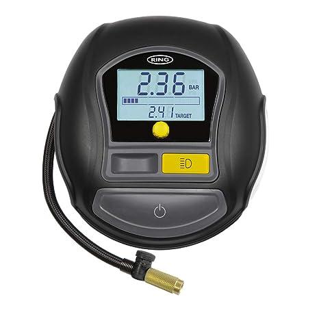 Ring RTC1000 compresor de Aire, Digital rápido con Juego rápido, Auto/Stop y