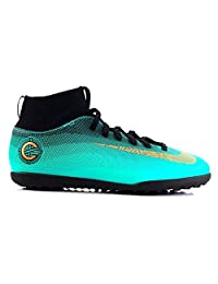 Nike Junior Superfly 6 Club Cr7 Tf Football Boots Aj3088 Soccer Cleats