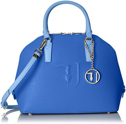 TRUSSARDI JEANS by Trussardi 75b555xx53 - Bolso de mano Mujer Multicolore (Blue/Jeans)