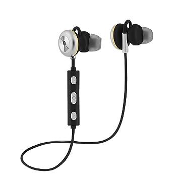Richer-R X9 Auriculares Bluetooth, Auriculares Deportivos para Correr Compatible para iPad, iOS Android Móviles Smartphones PC: Amazon.es: Electrónica