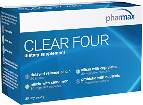 Pharmax - Clear Four - Probiotics to Promote Gastrointestinal Health* - 30 Day Supply