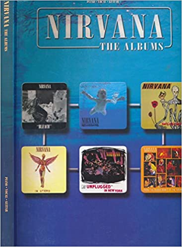 Nirvana The Albums Pianovocalguitar Sheet Music Book
