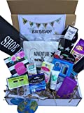 Complete Birthday or Everyday Travel Gift Basket Box for Her-Women, Mom, Aunt, Sister Friend