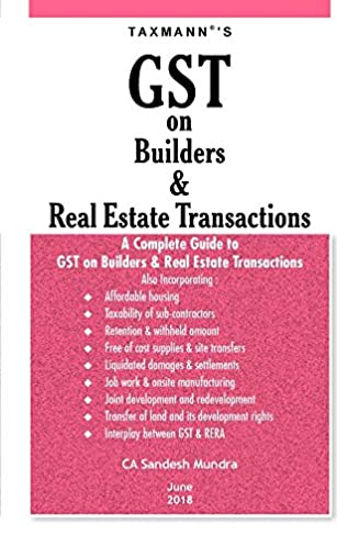 buy gst on bulders real estate transactions a complete guide to rh amazon in