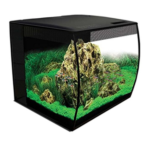 Hagen HG Fluval Flex Aquarium 57L, 15gal, Black by Hagen
