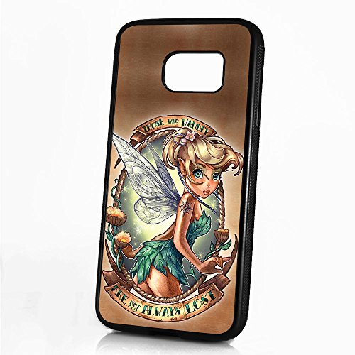 (For Samsung Galaxy S7 Edge) Durable Protective Soft Back Case Phone Cover - A11148 Tinkerbell