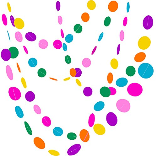 Bobee Rainbow Decorations Birthday Streamers