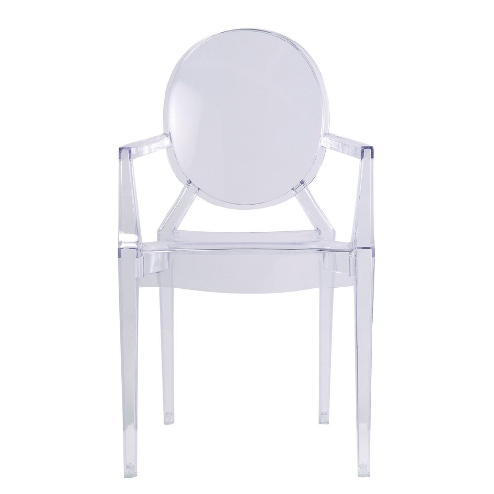 Amazon.com   Designer Modern Louis Ghost Chair   Modern Acrylic Arm Chair    Chairs