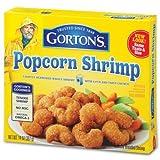 GORTONS SEAFOOD POPCORN SHRIMP 14 OZ PACK OF 2
