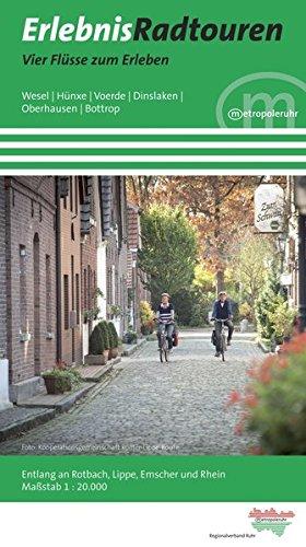 Erlebnisradtouren Vier Flüsse zum Erleben: 1:20000