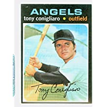 1971 Topps Baseball 105 Tony Conigliaro California Angels Excellent to Mint