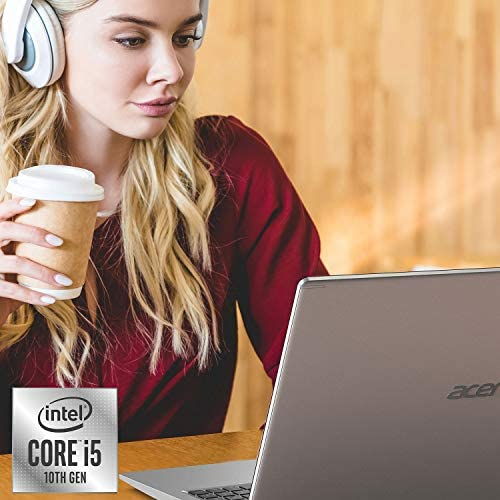 "Acer Aspire 5 A515-55-56VK, 15.6"" Full HD IPS Display, 10th Gen Intel Core i5-1035G1, 8GB DDR4, 256GB NVMe SSD, Intel Wireless WiFi 6 AX201, Fingerprint Reader, Backlit Keyboard, Windows 10 Home WeeklyReviewer"