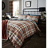 Catherine Lansfield Heritage Kelso Tartan Check Reversible Duvet Cover Bedding Set - UK King / US Queen