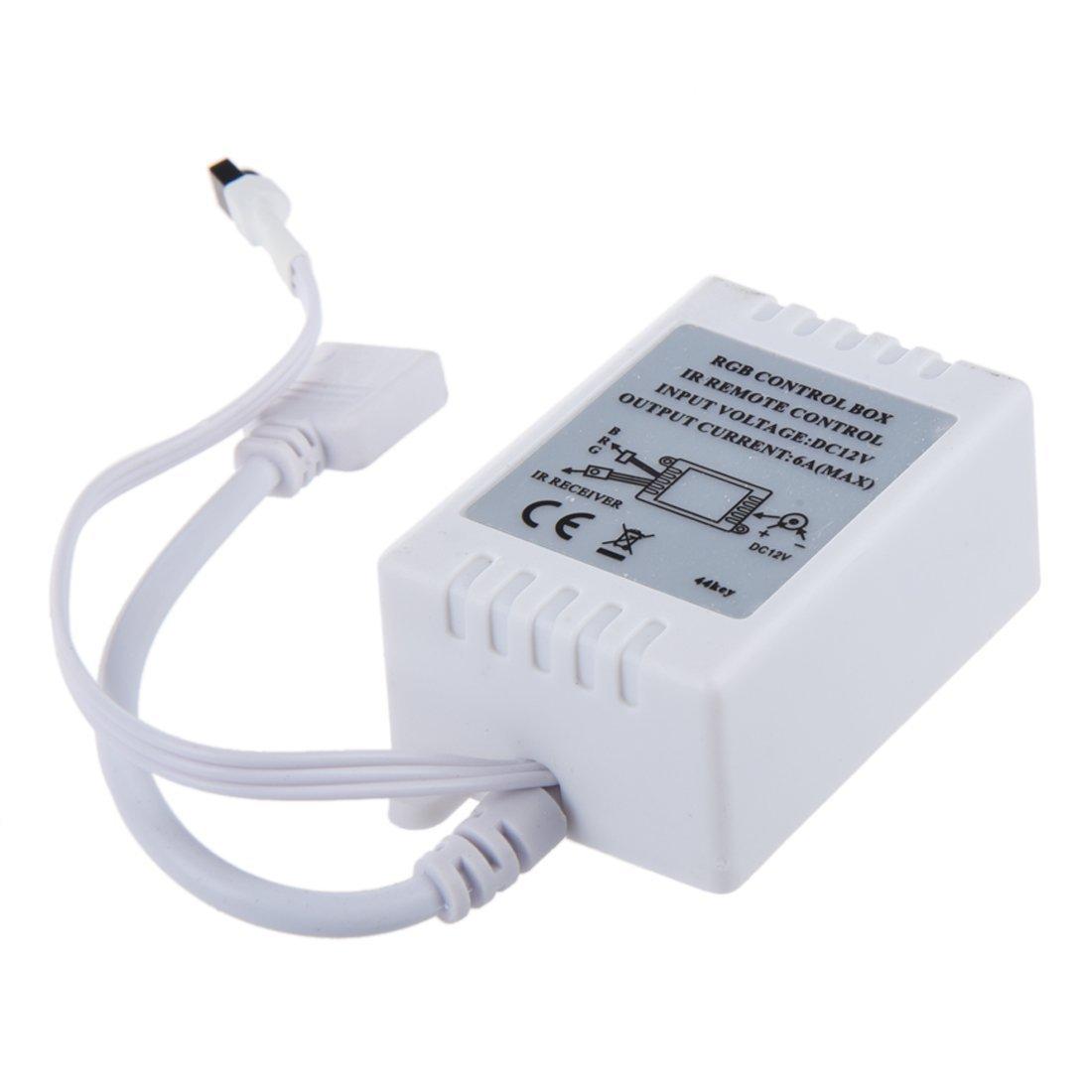 SODIAL(R) Impermeable a distancia 300 LED los 5M 5050 SMD RGB de tira flexible de luz de lampara + 44Key IR: Amazon.es: Iluminación
