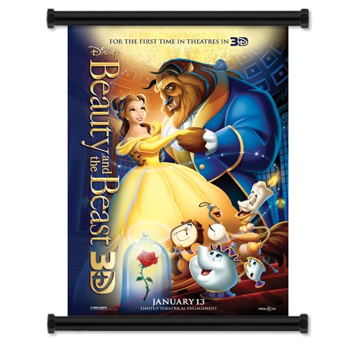beauty beast 3d movie fabric