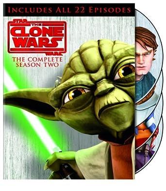 Amazon.com: Star Wars: The Clone Wars: Season 2 (Repackage ...