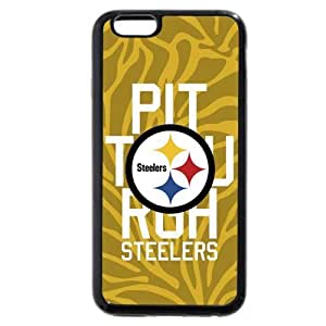 "UniqueBox Customized NFL Series Case for iPhone 6+ Plus 5.5"", NFL Team Pittsburgh Steelers Logo iPhone 6 Plus 5.5 WANGJING JINDA"