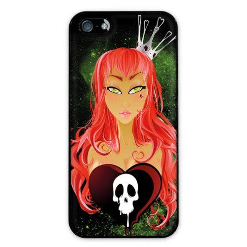 Diabloskinz H0081-0003-0019 Dark Lady Love Schutzhülle für Apple iPhone 5/5S