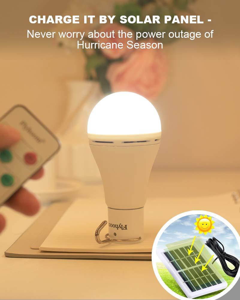 Flyhoom Solar Powered Light Bulbs