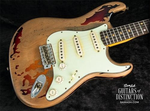 Fender Custom Shop Rory Gallagher Signature Stratocaster Electric Guitar (SN:R92023)