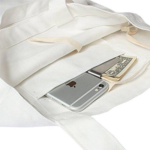 kilofly , Damen Tote-Tasche Weiss weiß Einheitsgröße