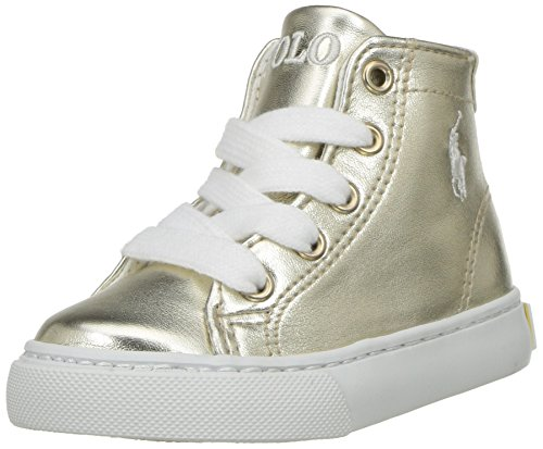 Sneaker Lauren Mid Ralph Kids Gold Slater Kids' Polo WpnzgcBqn