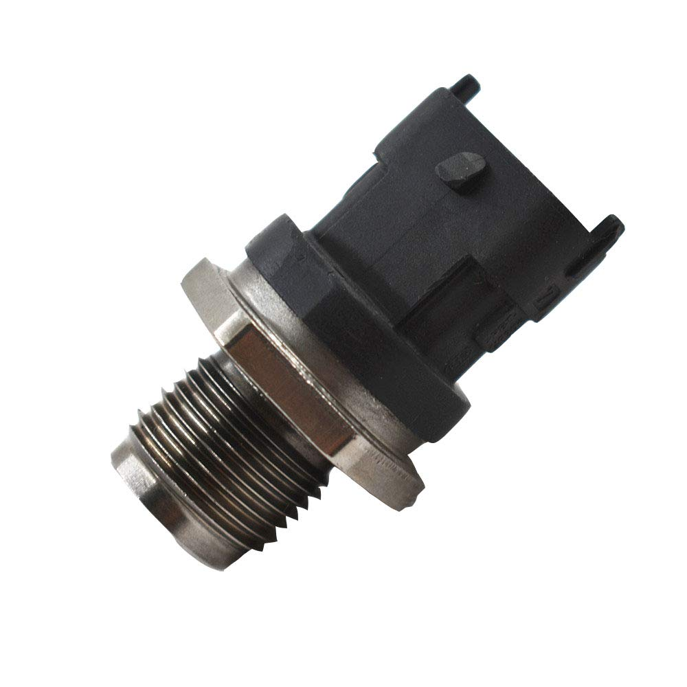 labwork-parts Fuel Rail Pressure Sensor Fit for 06-10 LBZ LMM 6.6L Sierra//Silverado Duramax
