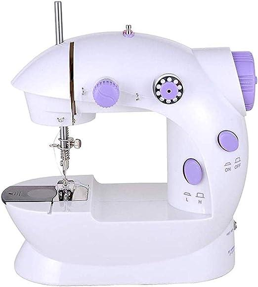 Máquina de coser portátil, coser electrónicas multi-función de la ...