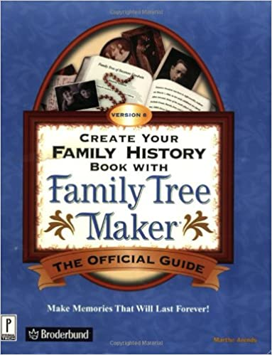 create your family history book with family tree maker version 8
