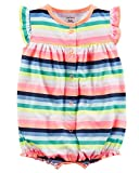 Carter's Baby Girls' Butterfly Snap-up Cotton Romper 18 Months