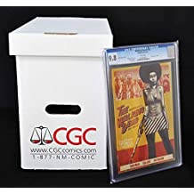 """CGC/PGX Graded Comic Storage Box - Official Authorized - Measures 15"""" x 8-1/2"""" x 13"""" - Case of 5 Boxes! by E. Gerber"""